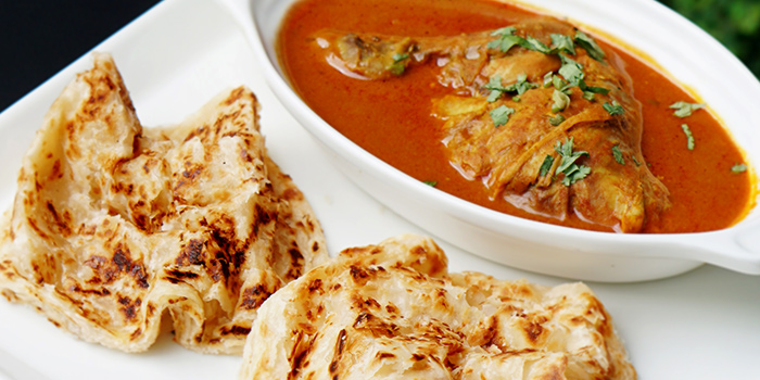 Curry Chicken Prata Set from Jai Ho Indian Cafe at Global Kitchens in Queenstown, Singapore