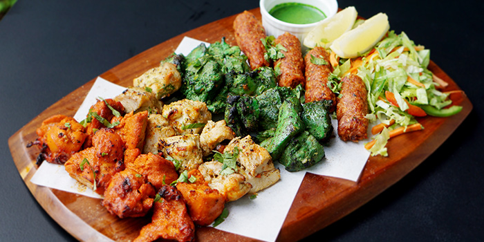 Tandoori Platter from Jai Ho Indian Cafe at Global Kitchens in Queenstown, Singapore