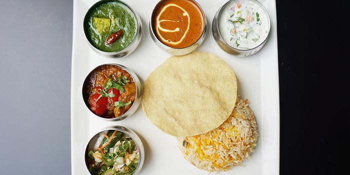 Vegetarian Biryani from Jai Ho Indian Cafe at Global Kitchens in Queenstown, Singapore