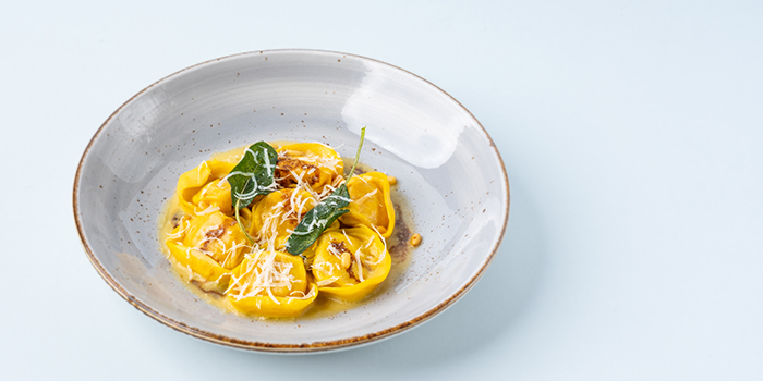 Pumpkin Capellaci, Brown Butter, Sage, Balsamic from LINO Pasta Bar at Shaw Centre in Orchard, Singapore