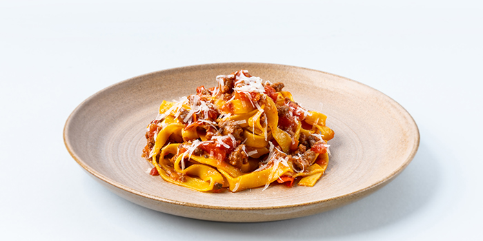 Tagliatelle Bolognese from LINO Pasta Bar at Shaw Centre in Orchard, Singapore