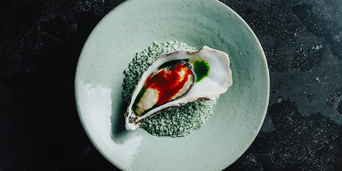 Oyster from Meta Restaurant in Chinatown, Singapore
