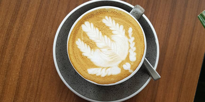Coffee from Oberstrasse in Lavender, Singapore