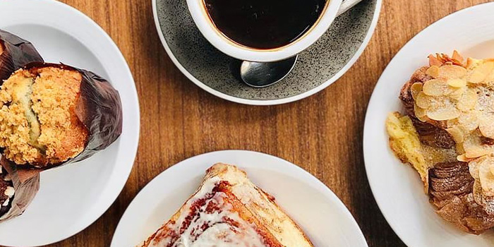 Pastries and Coffee from Oberstrasse in Lavender, Singapore