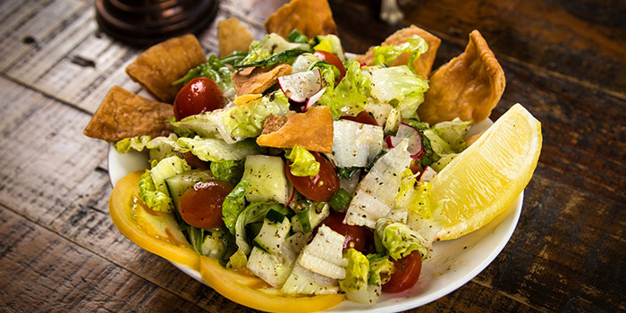 Fattoush from Qasr Grille & Mezze Bar in Holland Village, Singapore