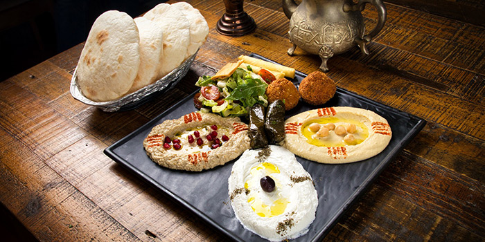Mezze from Qasr Grille & Mezze Bar in Holland Village, Singapore