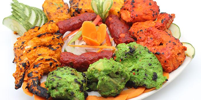 Veg Kebab Platter from Tandoori Culture (Boon Tat) in Telok Ayer, Singapore