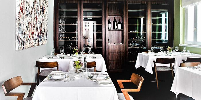 Private Dining Room of Gattopardo Ristorante di Mare on Tras Street in Tanjong Pagar, Singapore