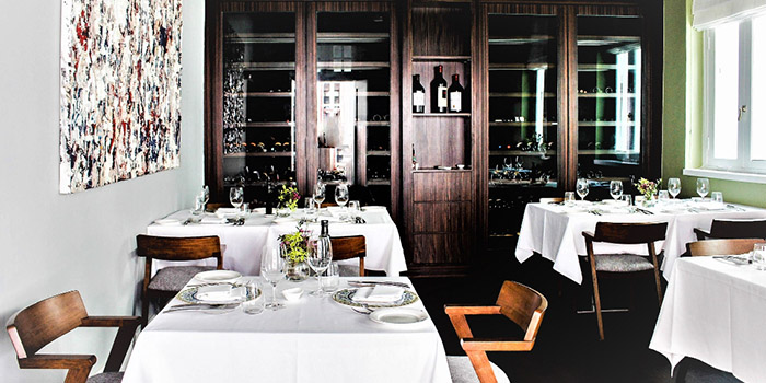 Private Dining Room of Gattopardo Ristorante di Mare on Tras Street in Tanjong Pagar, Singapore