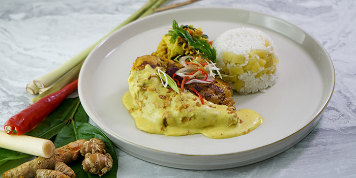 Food at SUKU Restaurant, Tanjung Benoa