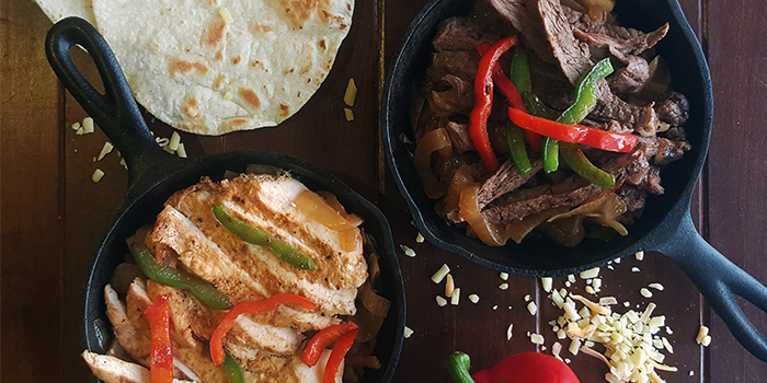 Chicken & Beef Fajitas from Santa Fe Tex-Mex Grill in Bugis, Singapore