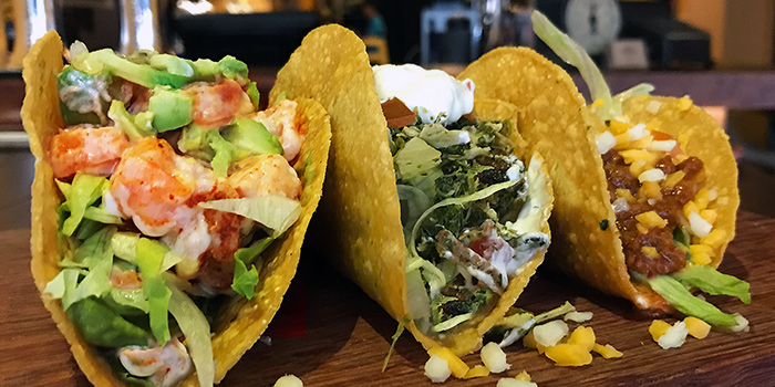 Hard Shell Tacos from Santa Fe Tex-Mex Grill in Bugis, Singapore
