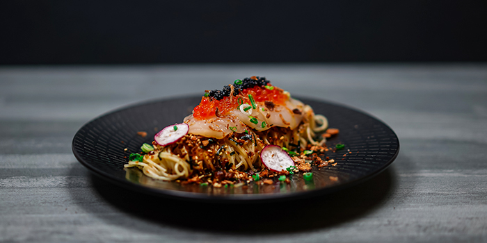 Scallop Capellini from Wine & Chef in Keong Saik, Singapore
