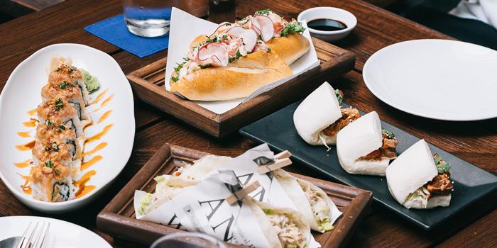 Selection of Food from Aqua at Anantara Siam in Ratchadamri, Bangkok