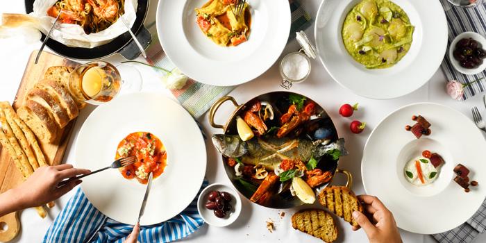 Selection of Food from La Tavola at Renaissance Bangkok Ratchaprasong Hotel in Ploenchit, Bangkok