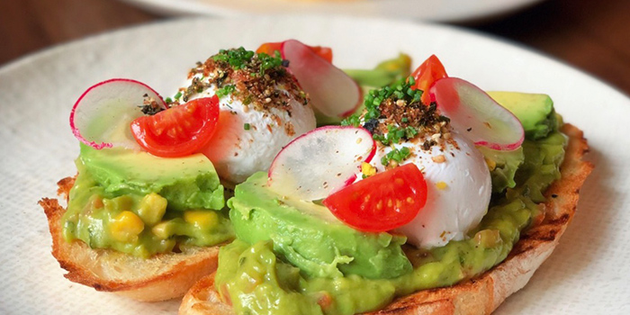 Smashed Avocado from Rookery (Capital Tower) in Tanjong Pagar, Singapore