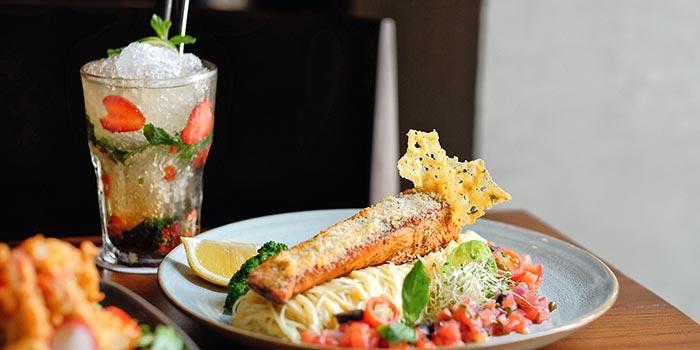 Spaghetti Oglio Olio at Cutt & Grill (Senopati)