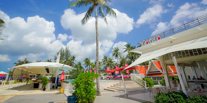 Sunday Brunch of Xana Beach Club in Bangtao, Phuket, Thailand.