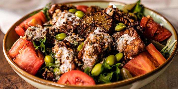 Tempeh Salad from Sarnies Cafe at Telok Ayer in Raffles Place, Singapore