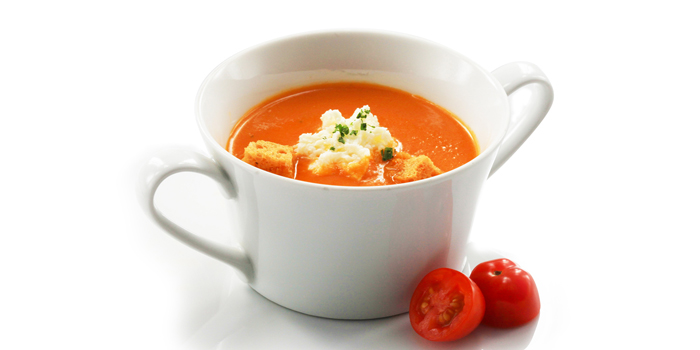 Tomato Soup from Chesa at 5 Sukhumvit Rd, Khlong Toei Bangkok