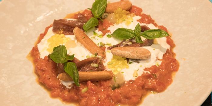 Tomato Tartare from Albricias at Chatrium Residence Sathon, Soi Naradhiwas 24, Bangkok