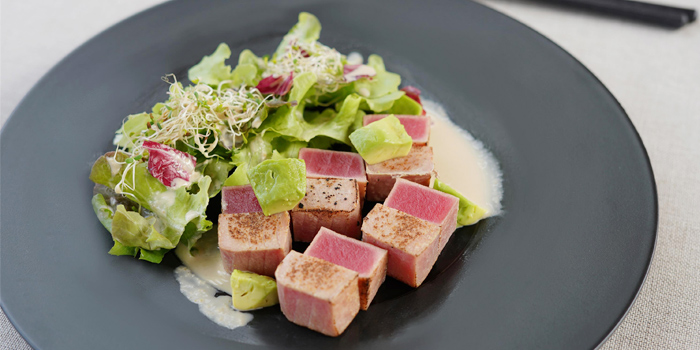 Tuna-and-Avocado-Salad from Taihei in Cherngtalay, Phuket, Thailand
