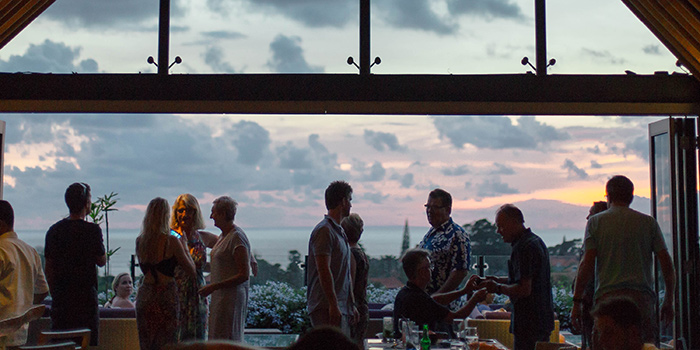 Ambience from Above Rooftop, Seminyak, Bali