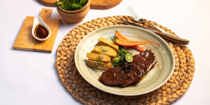 Dish 1 from Hutan Kota by Plataran