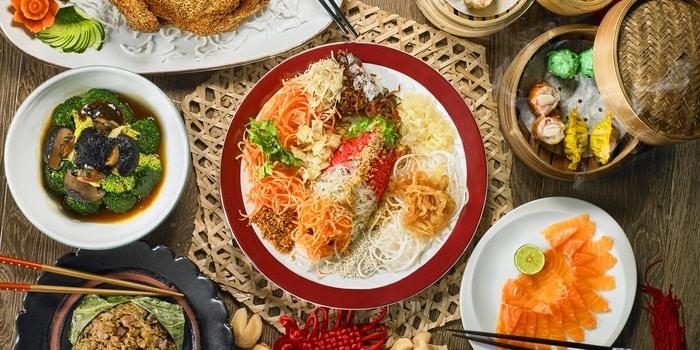 CNY Set Menu at Café Gran Via (Gran Melia Hotel Jakarta)