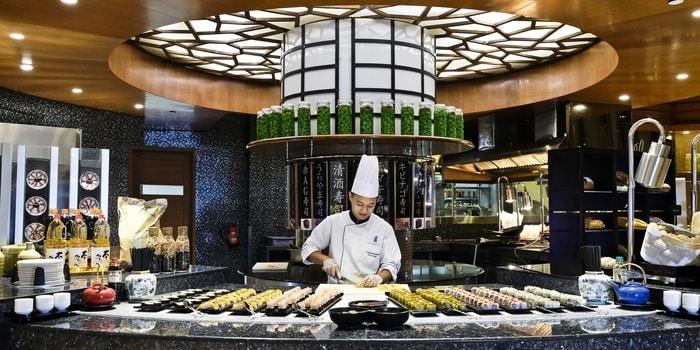 Japanese Corner at Asia Restaurant Ritz Carlton, Jakarta