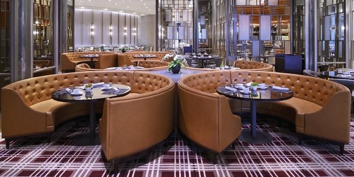 Dining Room at Asia Restauran Ritz Carlton, Jakarta