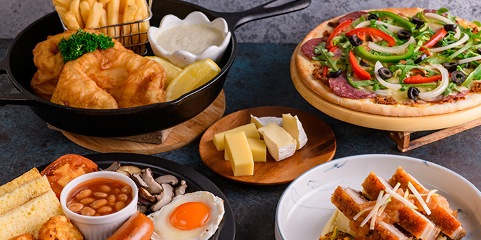 Western Food Spread from Four Points Eatery at Sheraton Singapore Riverview in Robertson Quay, Singapore