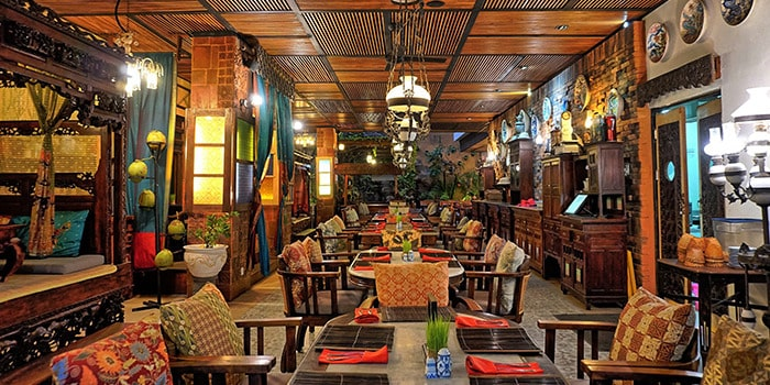 Food from Asian Spice Restaurant, Legian, Bali