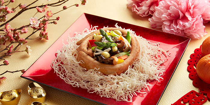 Wok Fried Yam Ring from Window on the Park in Holiday Inn Singapore Orchard City Centre in Orchard, Singapore
