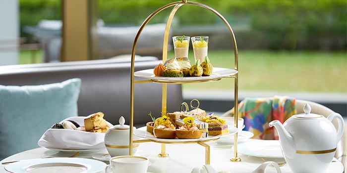Fashion Afternoon Tea, Garden Lunge, Central, Hong Kong