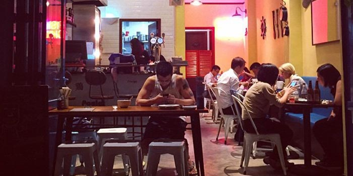 Dining Area, Fish & Chick (Kennedy Town), Kennedy Town, Hong Kong