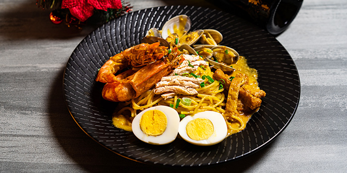 Laksa Pasta from Wine & Chef in Keong Saik, Singapore