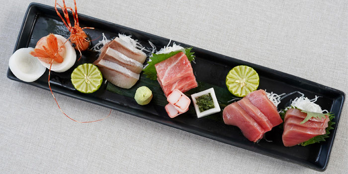 Sashimi-Assortment from Taihei in Cherngtalay, Phuket, Thailand