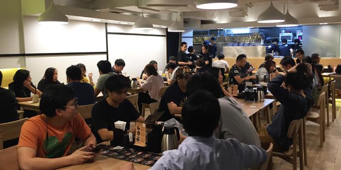 Ambience of Menya Itto at 494 Grand Hyatt Erawan LG Floor, Room LG-01, Ploenchit Road Lumphini, Pathumwan Bangkok