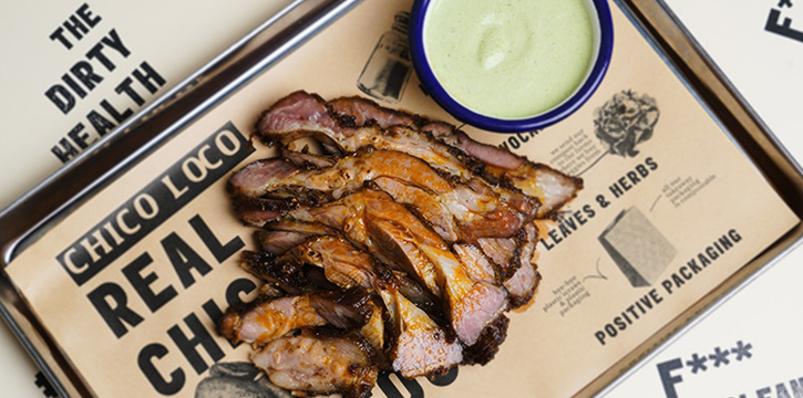Spiced Rub Lamb from Chico Loco in Telok Ayer, Singapore