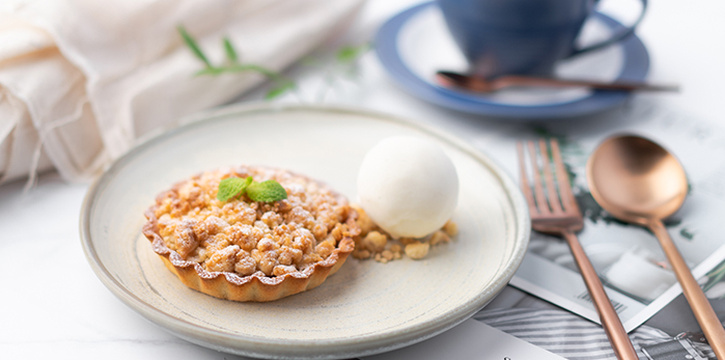 William Pear Crumbble Tart from Perch at Jewel Changi Airport in Changi, Singapore