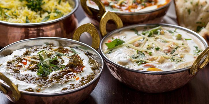 Assorted Food from Tandoori Culture (Boon Tat) in Telok Ayer, Singapore