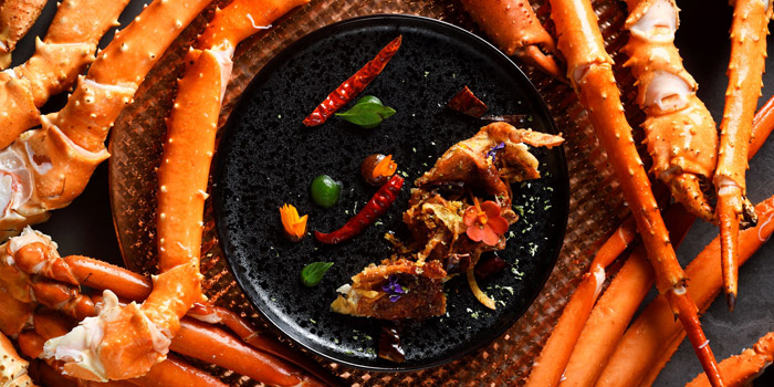 Cut the Crabs from Flavors at Renaissance Bangkok Ratchaprasong Hotel in Ploenchit, Bangkok