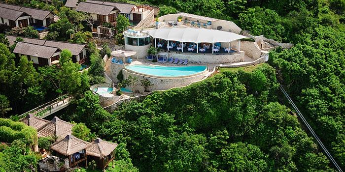 View from Di Mare Restaurant, Uluwatu, Bali