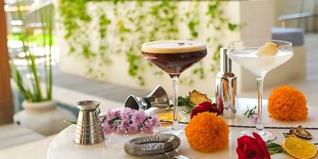 Cocktails offer at Ona Canggu