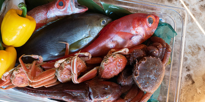 Fresh Ingredient  from Ki Shin Omakase at Hotel Nikko Bangkok Khlong Tan Nua, Wattana Bangkok