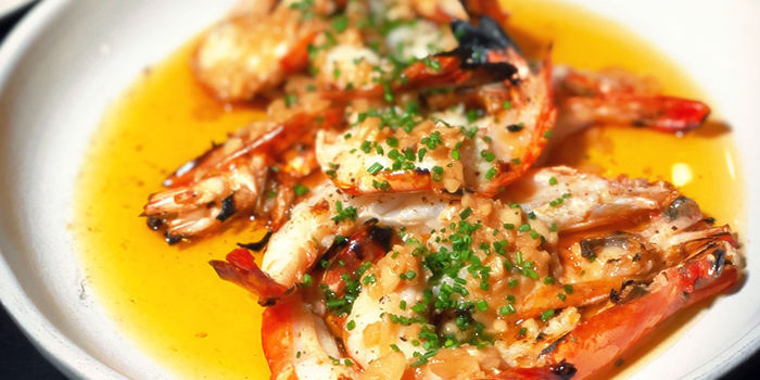Gambas from Rookery (Hong Leong Building) in Raffles Place, Singapore
