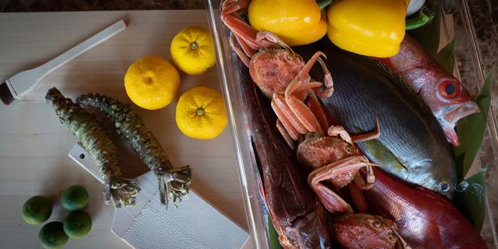Seasonal Ingredient from Ki Shin Omakase at Hotel Nikko Bangkok Khlong Tan Nua, Wattana Bangkok