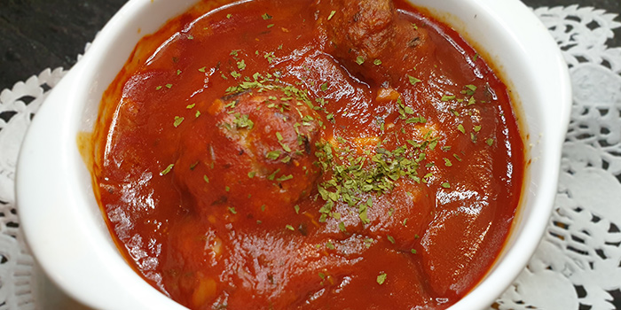 Baked Beef Meatballs from Bistro Neigh at Pasir Ris Park in Pasir Ris, Singapore