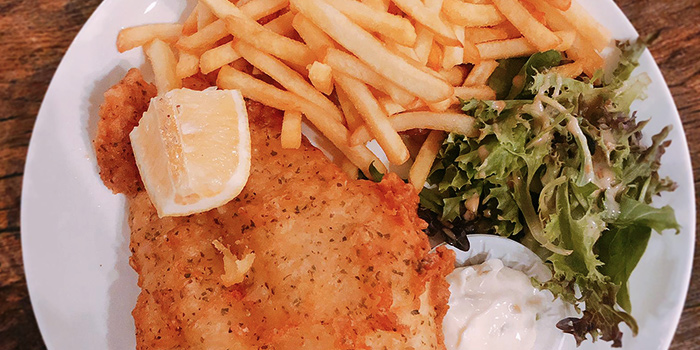 Fish & Chips from Bistro Neigh at Pasir Ris Park in Pasir Ris, Singapore